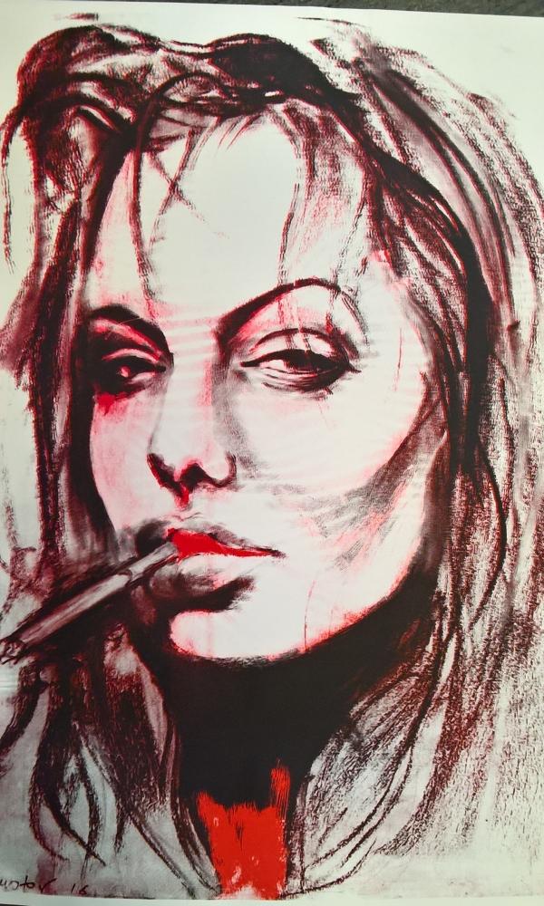 Angelina Jolie by Nik